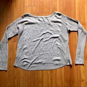 American Eagle Outfitters Sweaters - 🥳FREE W PURCHASE🥳 AEO beige baggy knit sweater
